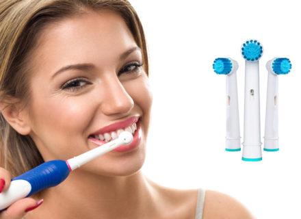 Vaihtopäät Oral B -hammasharjaan, 4-32 kpl alk. 7,90€ (säästä jopa 84%)