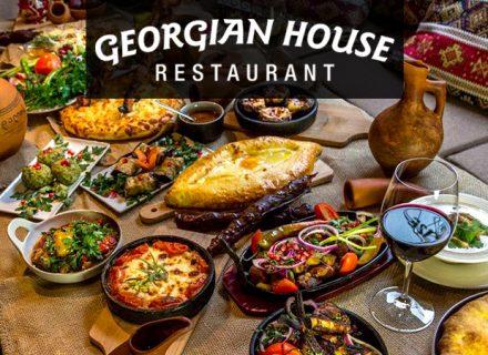 Georgian House – Chef's Menu kahdelle tai neljälle alk. 49€ (säästä 50%)