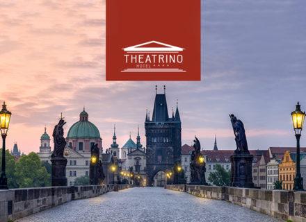 **** Hotel Theatrino Praha – 2-3 yötä kahdelle sis. aamiaiset alk. 79€ (säästä jopa 56%)