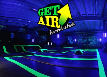 Liput kahdelle uuteen Get Air -trampoliinipuistoon 20€ (säästä 55%)