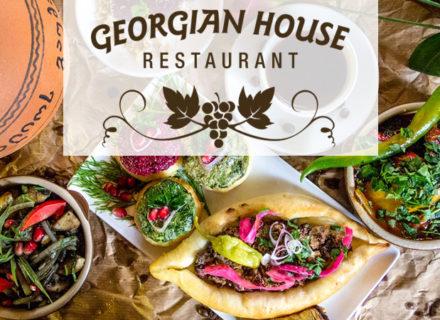 Georgian House – lounasbuffet alk. 8€ (säästä jopa 40%)