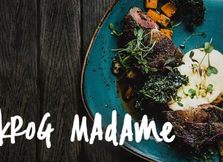 Krog Madame–kolmen ruokalajin illallismenu 2-4 hengelle alk. 52€ (säästä 54%)