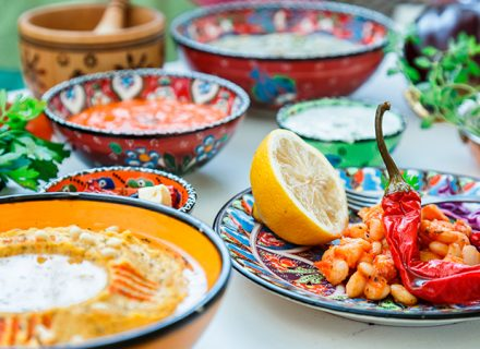 Ravintola Manoushen meze-lajitelma 14,90€