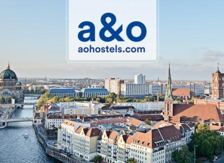2 tai 3 yötä kahdelle aikuiselle ja kahdelle lapselle A&O Hotelleissa Berliinissä alk. 99€ (säästä jopa 56%)