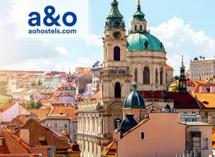 A&O Hotellit Praha – 2–3 yötä kahdelle aikuiselle ja kahdelle lapselle alk. 69€