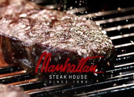 Manhattan Steak House – sisäfilepihvit alk. 19€ (säästä jopa 43%)