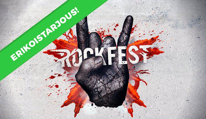 Rockfest Rannekkeen Vaihto