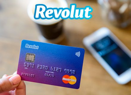 Tilaa Revolut-maksukortti ilmaiseksi ilman toimitusmaksua!