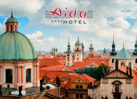 2 tai 3 yötä Hotel Aidassa Prahassa kahdelle sis. aamupalan alk. 79€