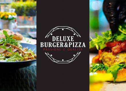 Deluxe Burger & Pizzan lounas nyt vain 7,50€!