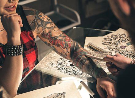 100 euron arvoinen lahjakortti tatuointiin vain 20€