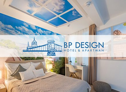 BP Design Hotel & Apartment – 2–3 yötä kahdelle aamiaisilla Budapestissa alk. 159€ (säästä jopa 40%)