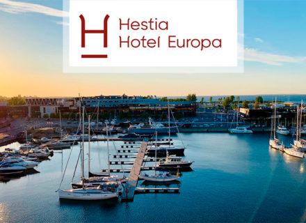 Hestia Hotel Europa – sviittiyö, aamiaisbuffet ja pullo kuohuvaa kahdelle alk. 149€ (säästä jopa 55€)