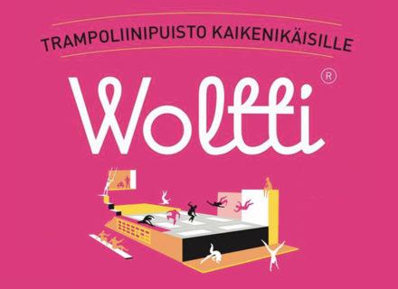 Liput uuteen Woltti-trampoliinipuistoon kahdelle 18€