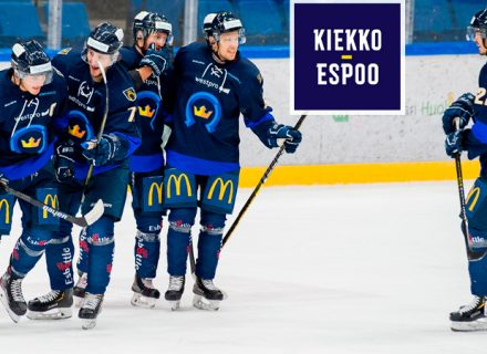 Pääsyliput kahdelle tai perhelippu Kiekko-Espoon kotiotteluihin alk. 12€ (säästä jopa 52%)