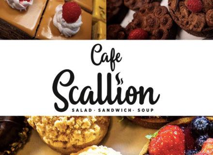 Cafe Scallion – erikoiskahvit ja brita-leivokset kahdelle tai neljälle alk. 13,90€  (säästä jopa 46%)