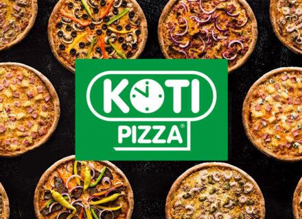 Kotipizza Kaari – valinnaiset pizzat tai kotzonet kahdelle 14,90€ (arvo 25,80€)